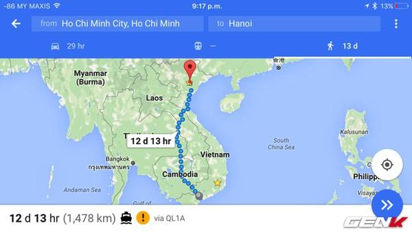 12 ngay tu Ha Noi ban co the di qua 4 nuoc de sau cung ve den Sai Gon - 2