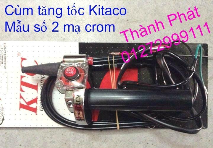 Bao Tay Gu Tay Thang Kieu Cum tang toc cho xe PKL va xe nho Barracuda DPM RIZOMA JapanSpeed - 3