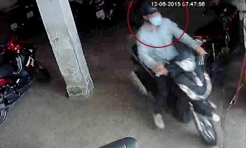 Bao ve xem lai camera Oi That cay dang ao mua 10000 dong doi xe SH - 3