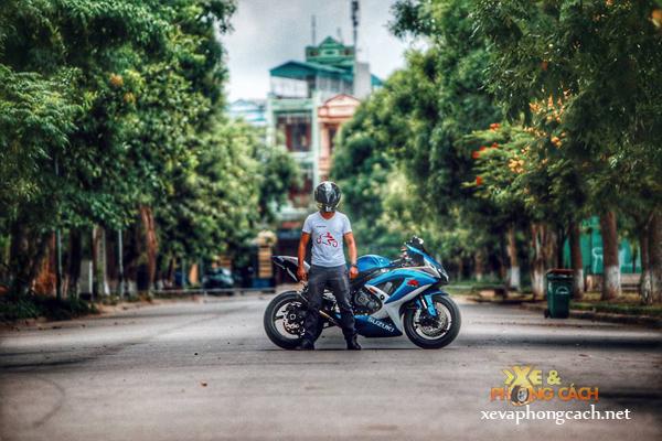 Cam nhan cua biker Thanh Hoa ve xe Suzuki GSXR huyen thoai