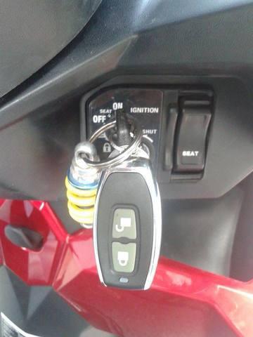 Khoa chong trom FAST LOCK V20 ket hop SmartKey cua Honda mo xe nhan nut - 8