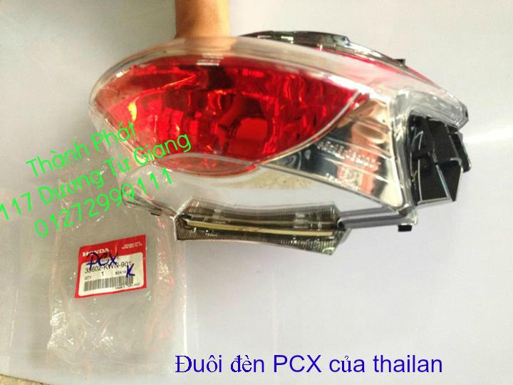 Chuyen Phu tung Zin Honda PCX Thailan va VN doi 2011 doi 2014 day du het do mu va do may Gia tot u - 35