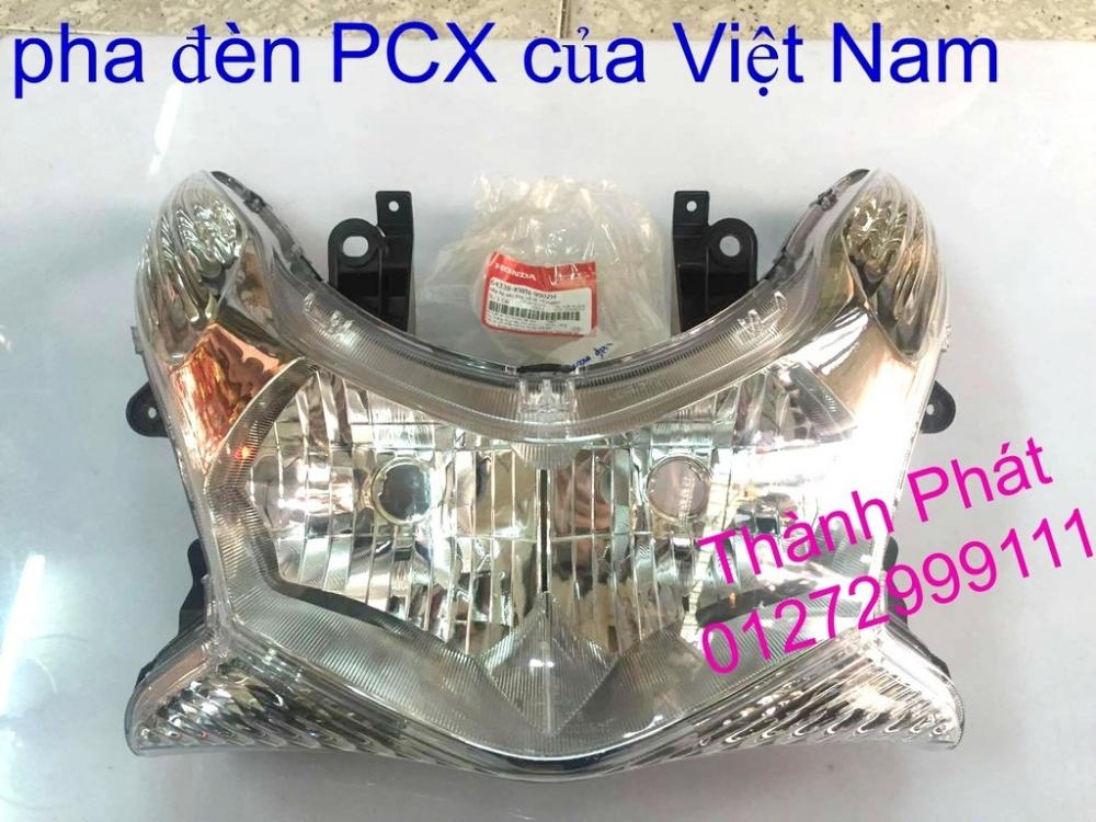 Chuyen Phu tung Zin Honda PCX Thailan va VN doi 2011 doi 2014 day du het do mu va do may Gia tot u - 34