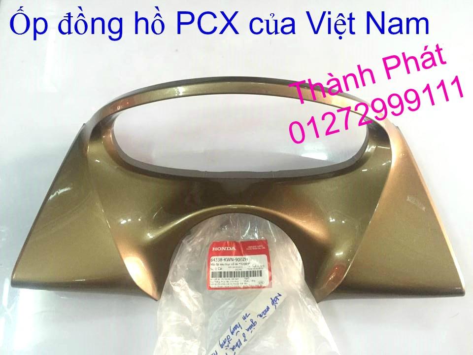 Chuyen Phu tung Zin Honda PCX Thailan va VN doi 2011 doi 2014 day du het do mu va do may Gia tot u - 37