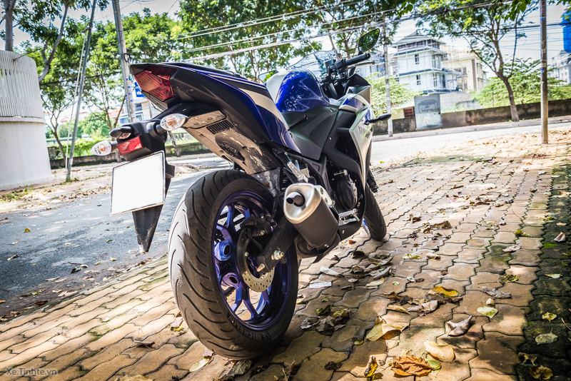 Clip Cam nhan tieng po cua Yamaha R3