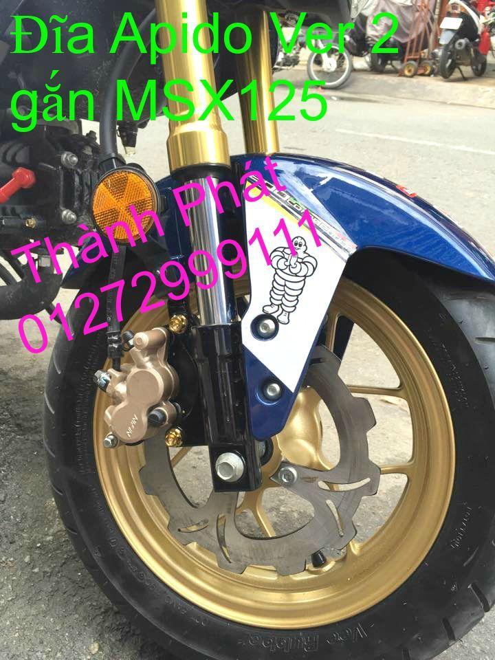 Dia kieu Thai dia Phay CNC YA Z CBR Biker Galfer ARASHI MegaPro Malossi Breaking NCY Ap - 39