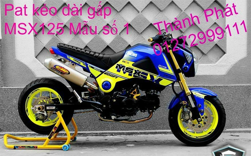 Do choi Honda MSX 125 tu A Z Po do Kinh gio Mo cay Chan bun sau de truoc Ducati Khung suo - 29