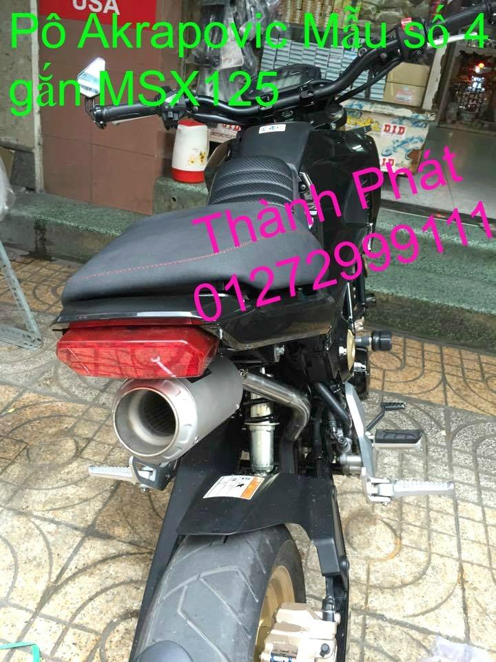 Do choi Honda MSX 125 tu A Z Po do Kinh gio Mo cay Chan bun sau de truoc Ducati Khung suo - 48