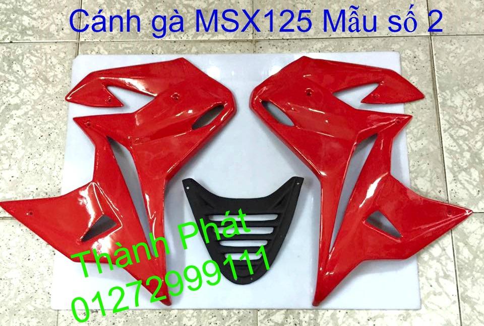 Do choi Honda MSX 125 tu A Z Po do Kinh gio Mo cay Chan bun sau de truoc Ducati Khung suo - 23