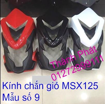 Do choi Honda MSX 125 tu A Z Po do Kinh gio Mo cay Chan bun sau de truoc Ducati Khung suo - 26