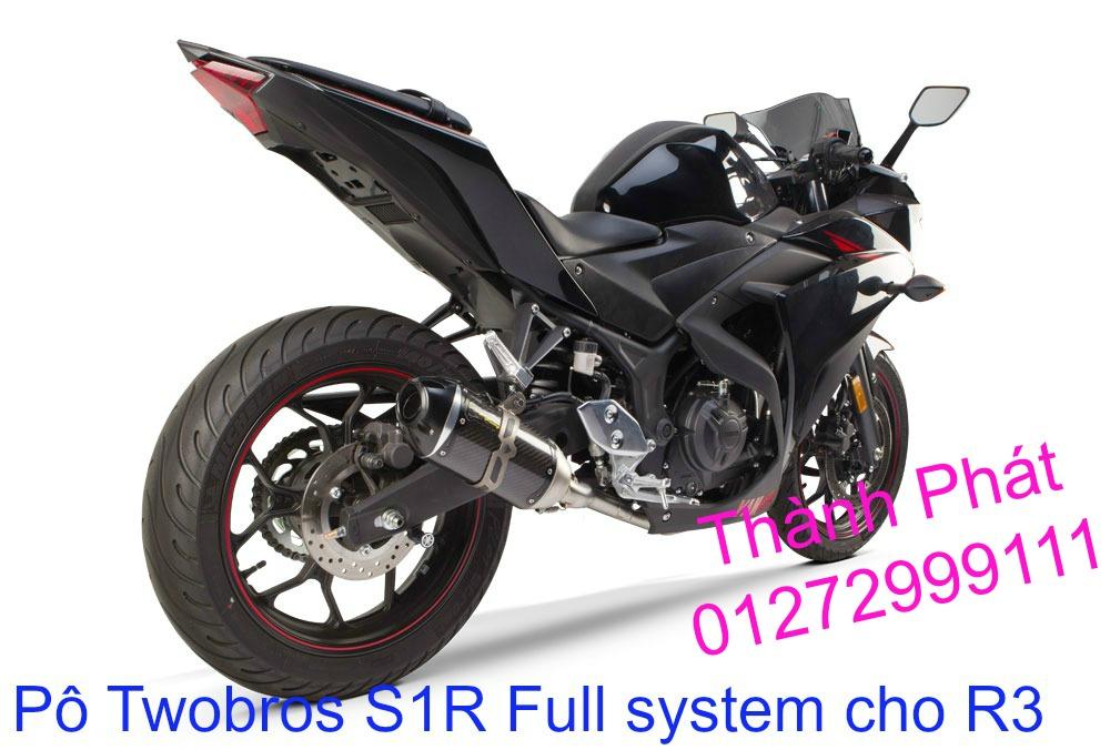 Po Twobros Hang chinh hang cho Ninja 300 R3 MSX125 Z800 Z1000 CBR1000 - 7