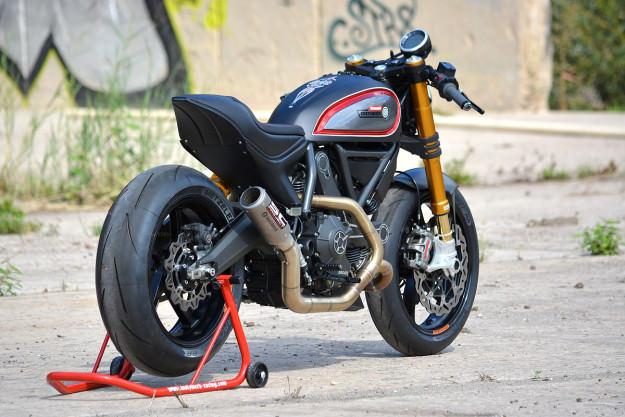 Ducati Scrambler phien ban do dac biet cua WalzWerk Racing - 10
