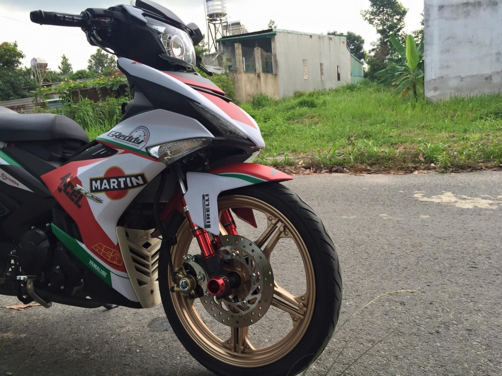Exciter 150 kieng nhe cho ver moi