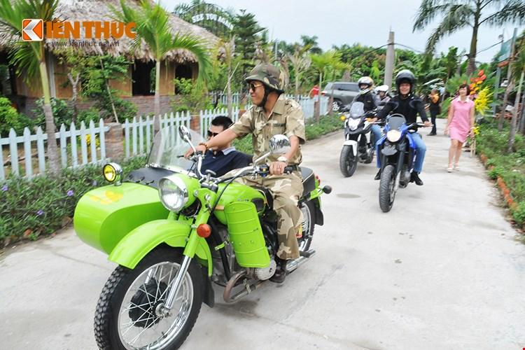 Hang tram xe mo to PKL hoi tu mung sinh nhat CLB mo to Ha Noi - 15