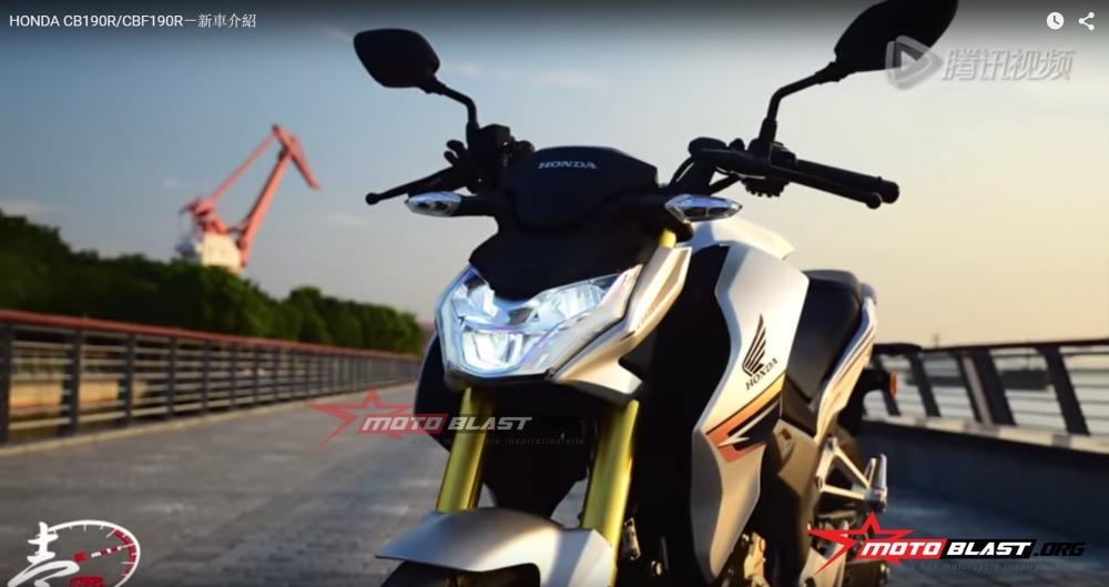 Honda CB190R CBF190R chinh thuc ra mat thi truong - 6