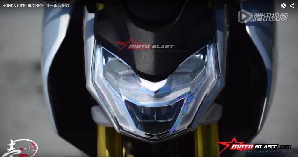 Honda CB190R CBF190R chinh thuc ra mat thi truong - 19