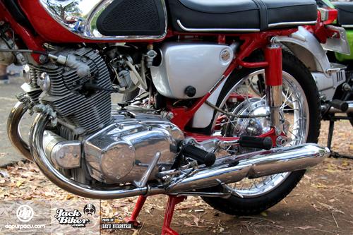Honda CB72 xe co hang hiem o Indonesia gia 11000 USD - 15