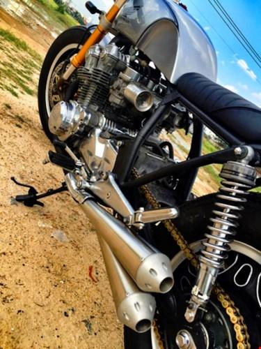 Honda CB750 cafe racer do cuc chat qua ban tay tho Viet - 9