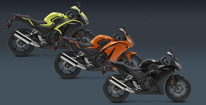 Honda ra mat cac phien ban 2016 cua dong Sportbike CBR