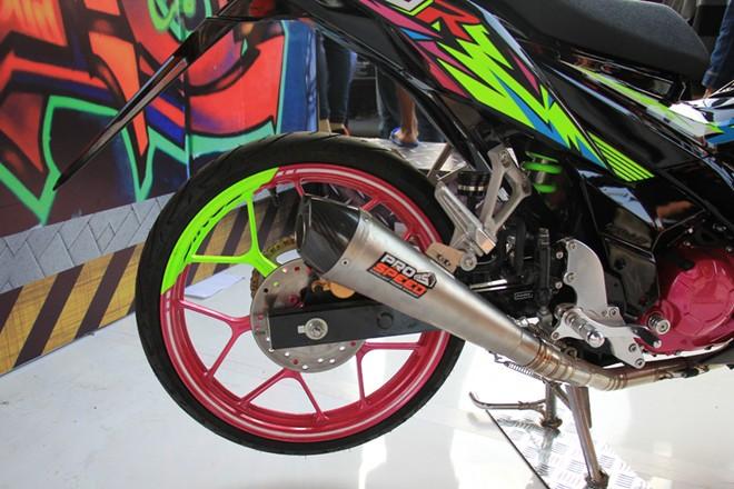 Honda Sonic 150R Do noi bat cua biker nuoc ban - 4