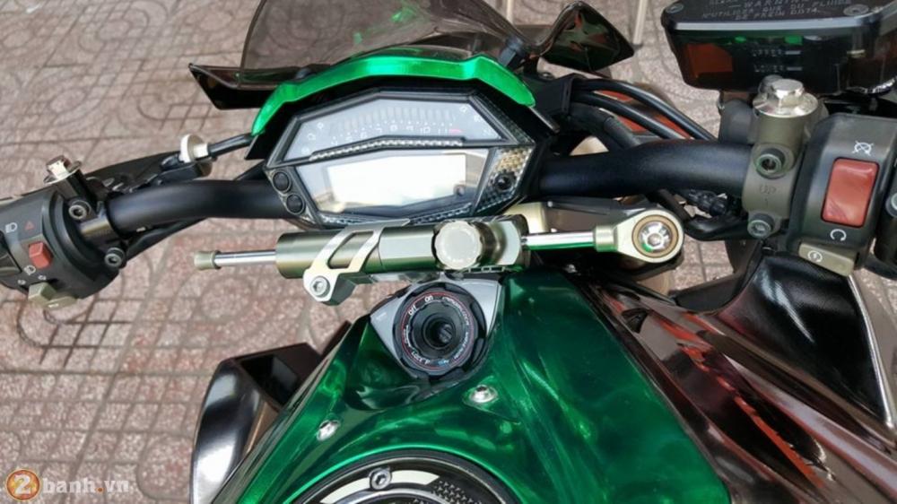 Kawasaki Z1000 dep va doc dao voi phien ban Decal Chrome - 3