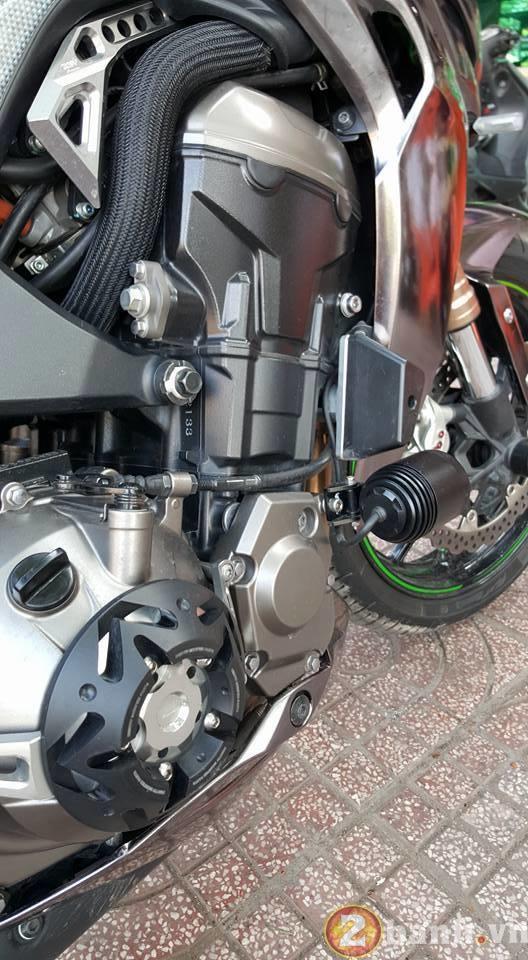 Kawasaki Z1000 dep va doc dao voi phien ban Decal Chrome - 5