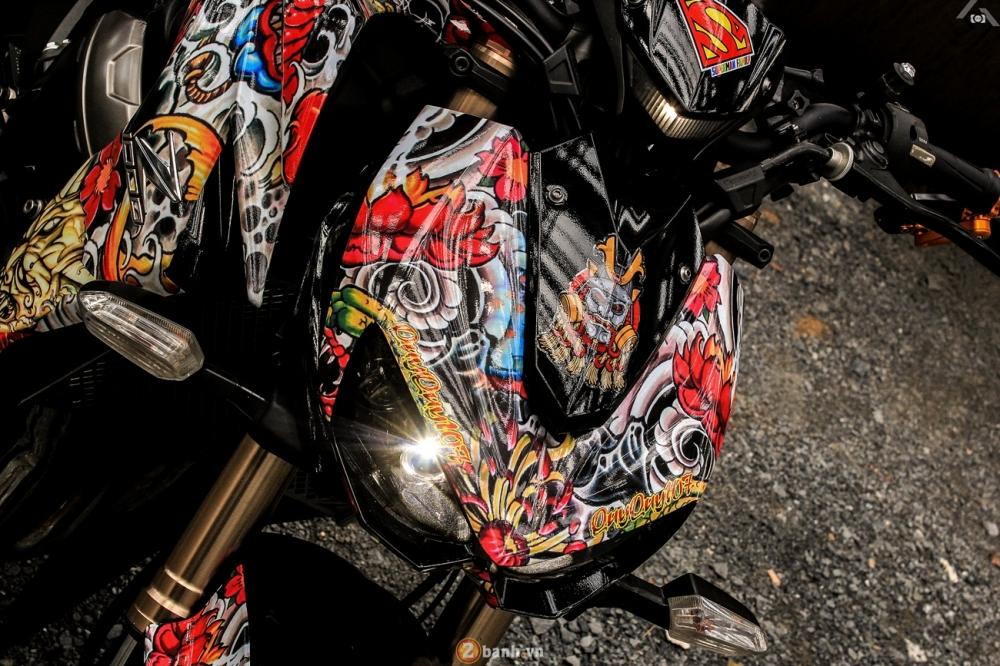 Kawasaki Z1000 phien ban Yakuza Nhat Ban tai Sai Gon