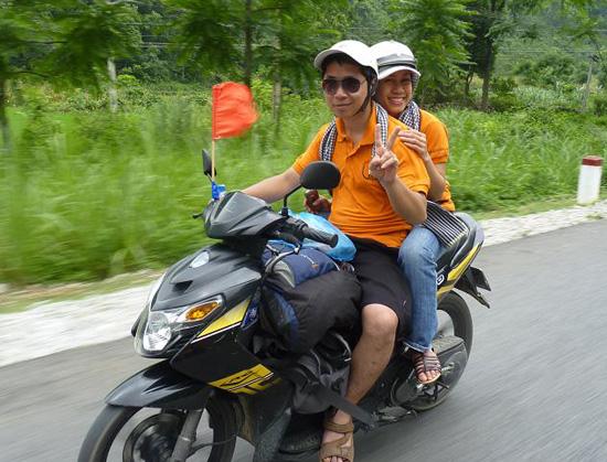 Kinh nghiem di tu Nha Trang ra Hue bang xe may