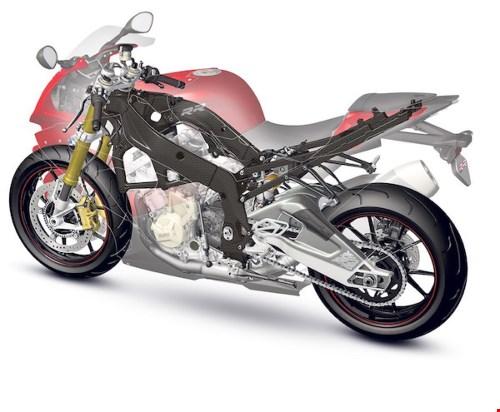 Mo to PKL moi cua BMW Motorrad se su dung khung suon bang soi carbon