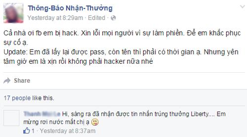 Nguoi dung Facebook do khoc do cuoi vi bi hack va doi ten