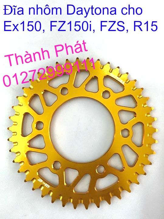 Do choi Exciter 150 tu A Z Po do Chan bun sau kieng kieu Bao tay Tay thang Xinhan kieu S - 25