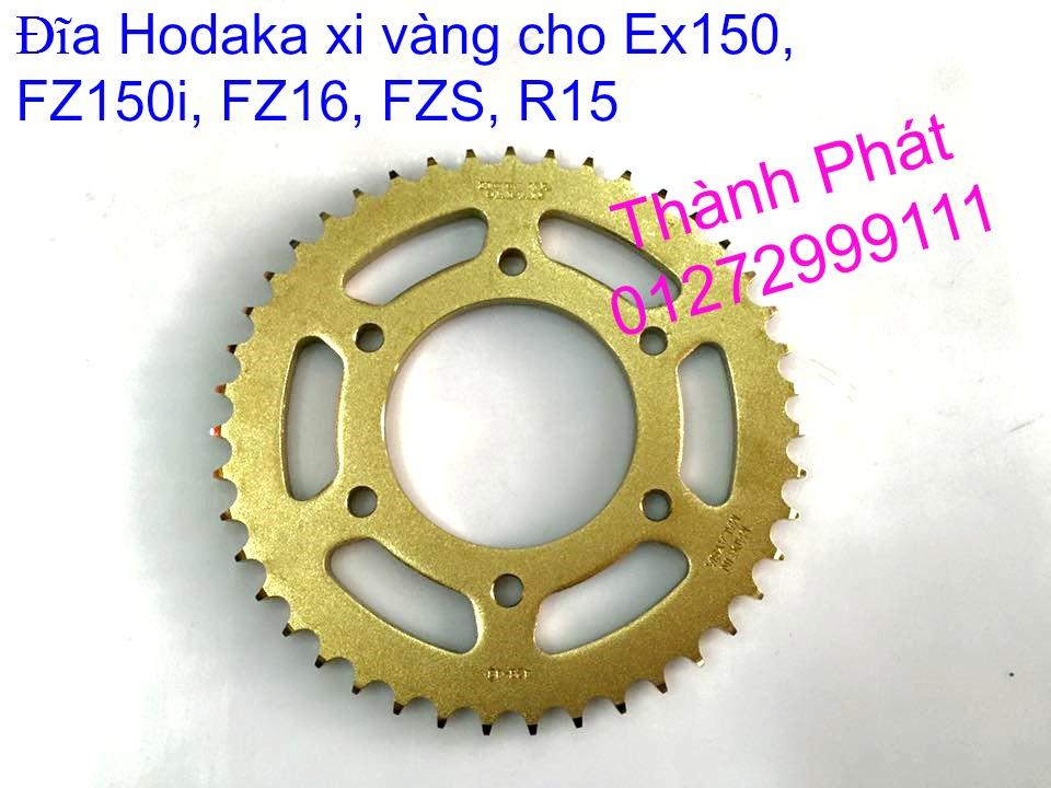 Do choi Exciter 150 tu A Z Po do Chan bun sau kieng kieu Bao tay Tay thang Xinhan kieu S - 15