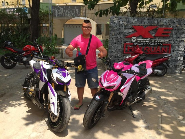 Thu choi xe phan khoi lon doc la cua biker 1996 - 4