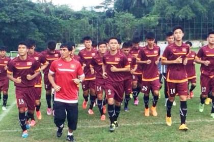 U19 Viet Nam dang rat hung phan va tu tin tai vong loai U19 chau A 2016