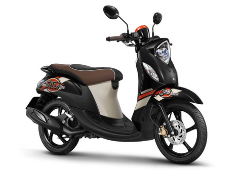 Yamaha Fino 125 phien ban moi se ra mat vao thang 10