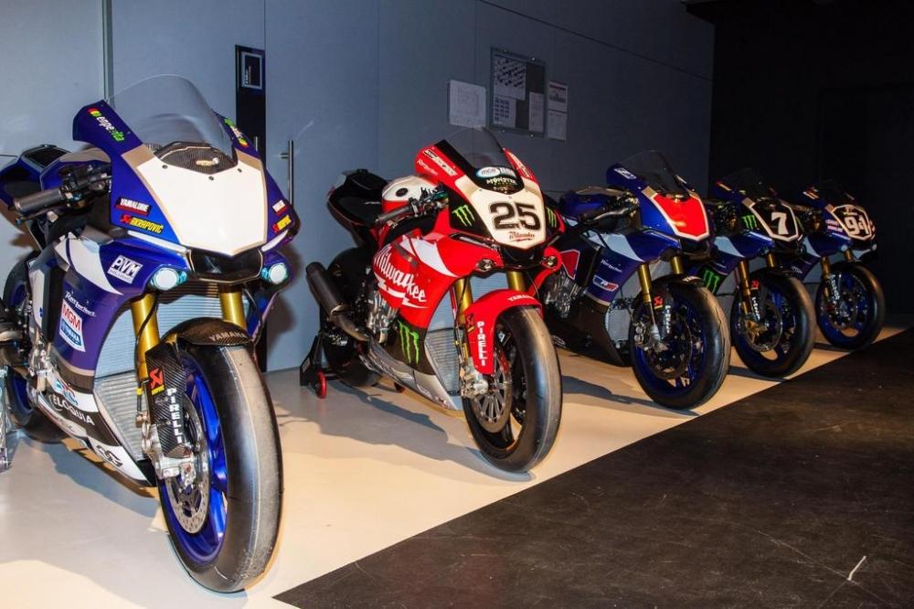 Yamaha quay lai duong dua WSBK nam 2016