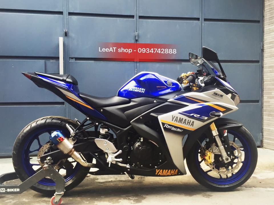 Yamaha R3 voi phien ban do hoan hao tai Sai Gon