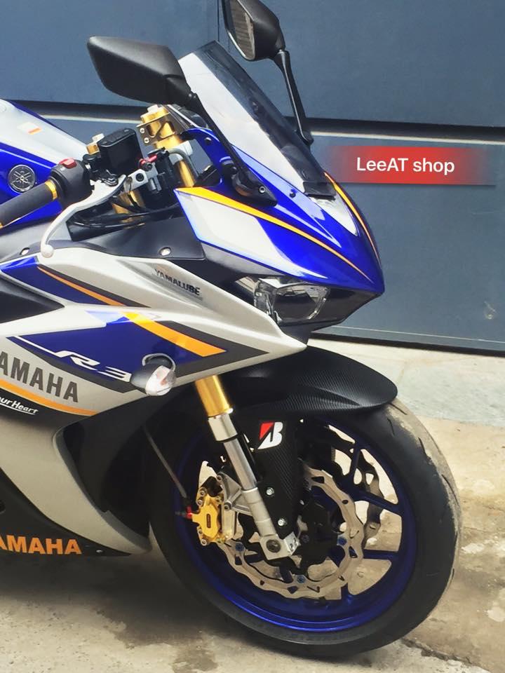 Yamaha R3 voi phien ban do hoan hao tai Sai Gon - 3