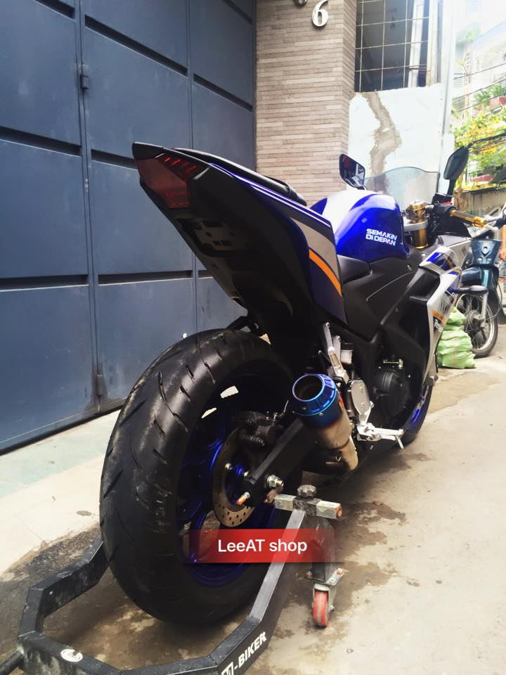 Yamaha R3 voi phien ban do hoan hao tai Sai Gon - 7