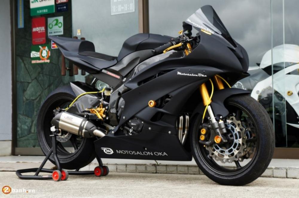 Yamaha R6 sieu chat voi phien ban do Racing