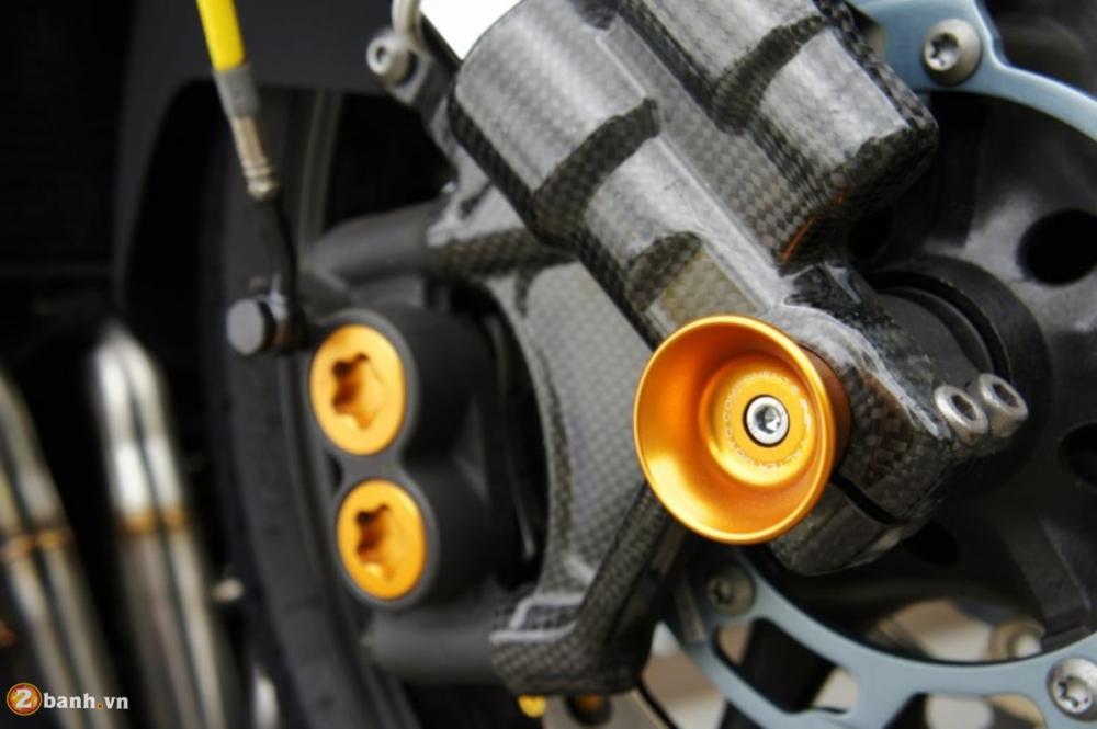 Yamaha R6 sieu chat voi phien ban do Racing - 4