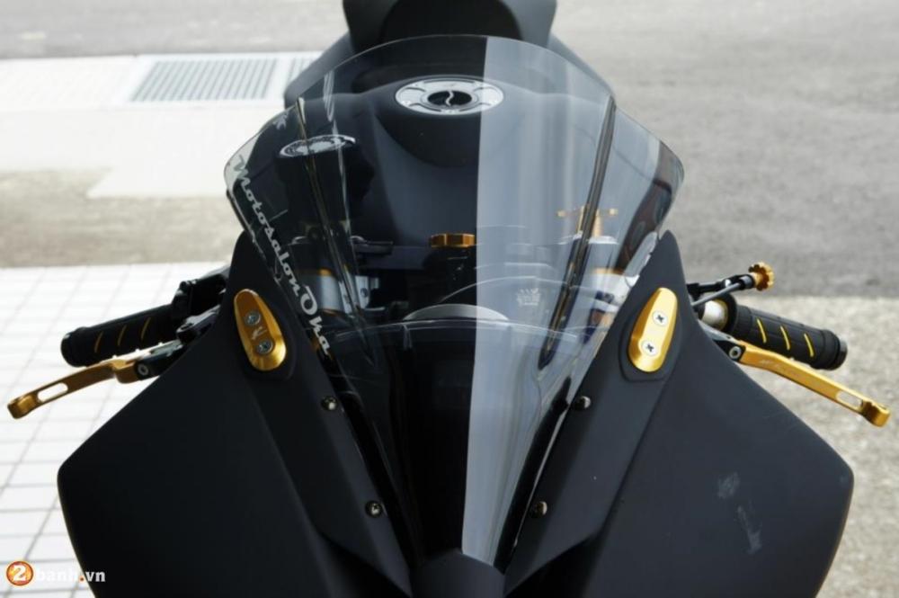 Yamaha R6 sieu chat voi phien ban do Racing - 10