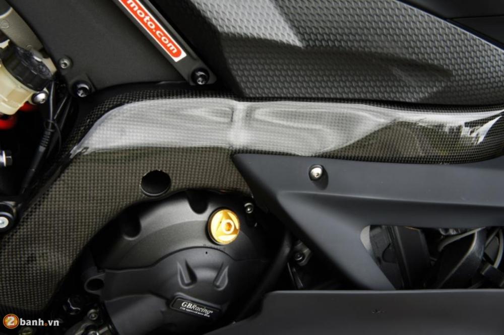 Yamaha R6 sieu chat voi phien ban do Racing - 12