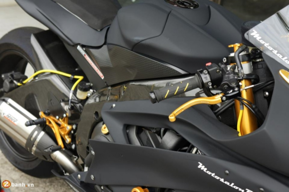 Yamaha R6 sieu chat voi phien ban do Racing - 14