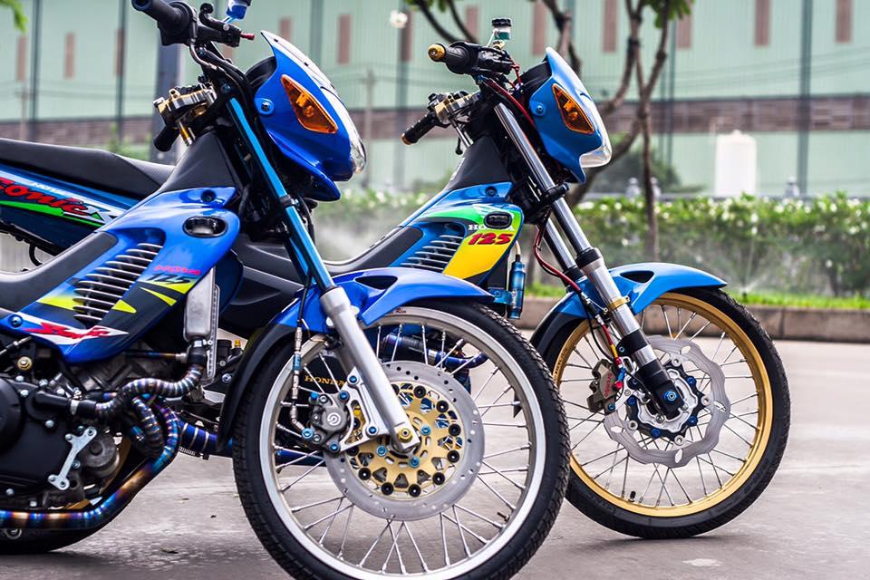 Bo doi Honda Sonic do khung cua biker Sai Gon - 2