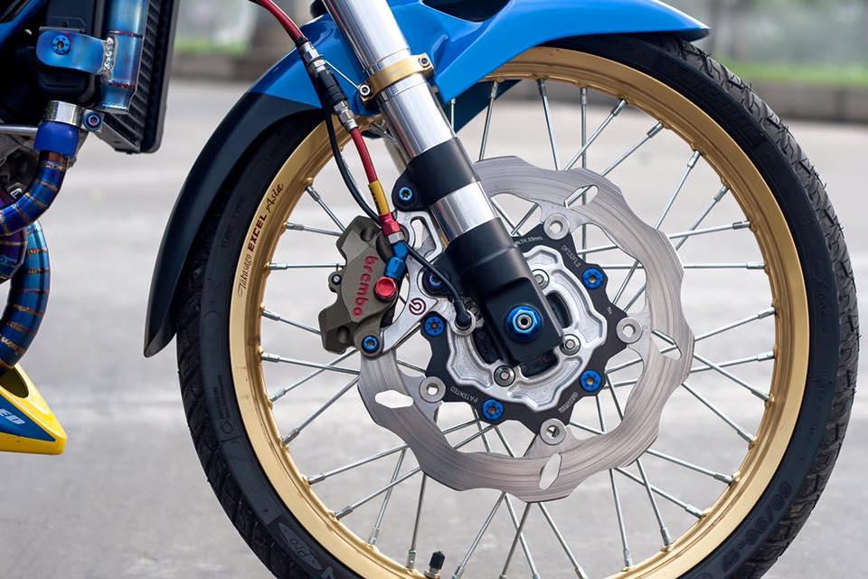 Bo doi Honda Sonic do khung cua biker Sai Gon - 4
