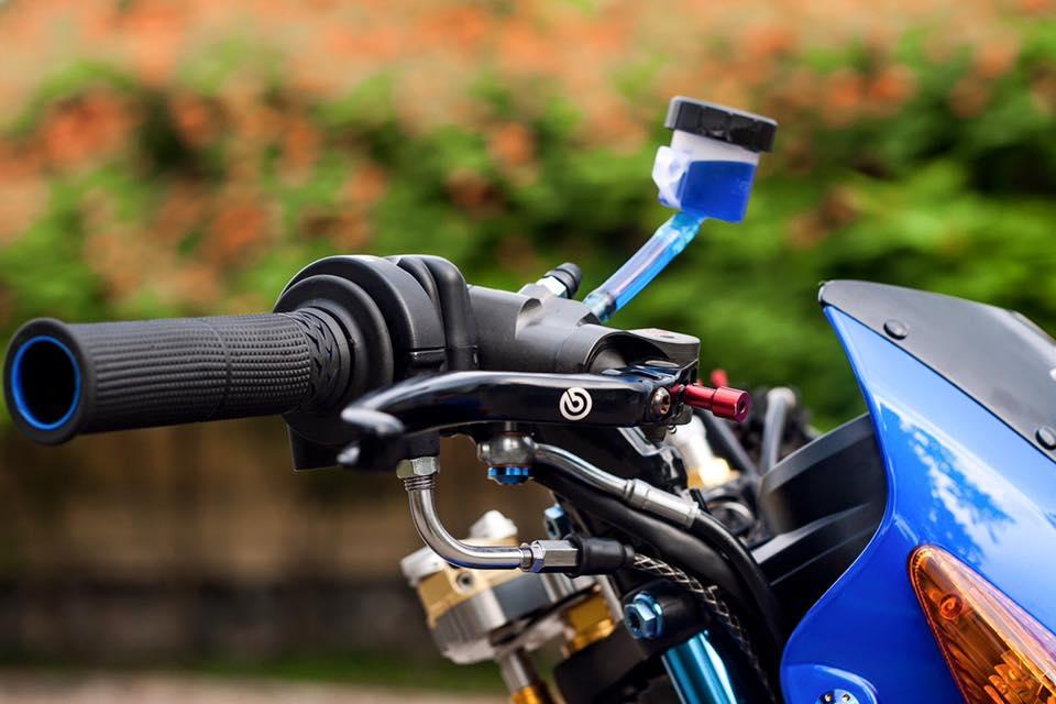 Bo doi Honda Sonic do khung cua biker Sai Gon - 6