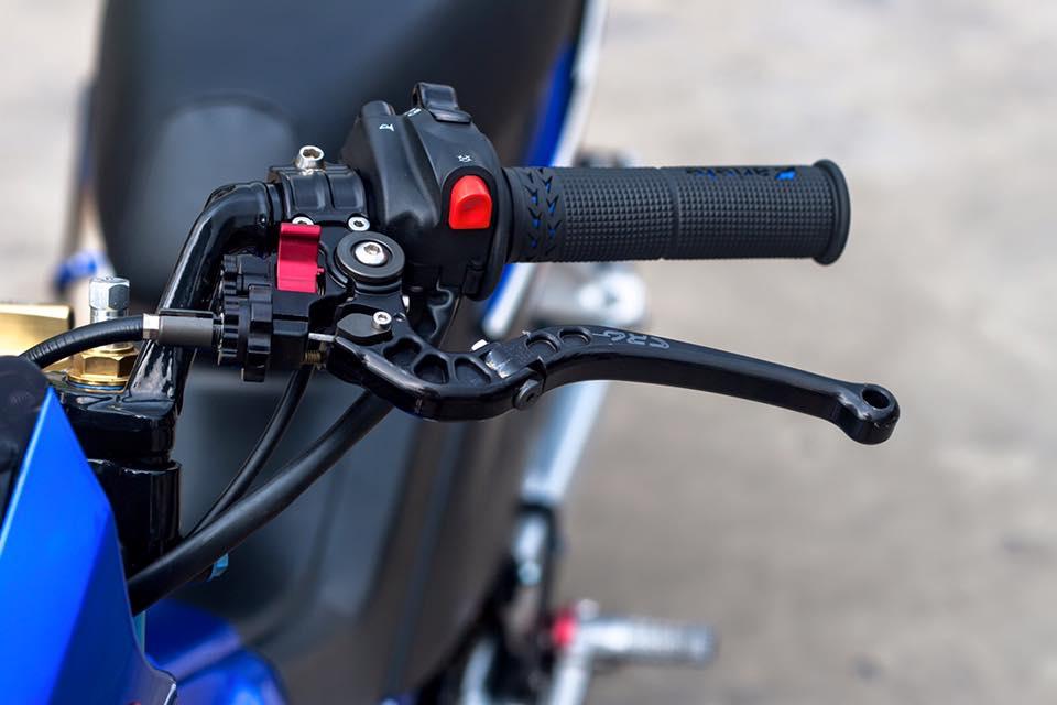Bo doi Honda Sonic do khung cua biker Sai Gon - 7