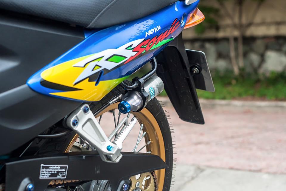 Bo doi Honda Sonic do khung cua biker Sai Gon - 13