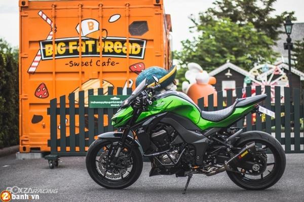 Kawasaki Z1000 2015 do day phong cach cua biker Thai